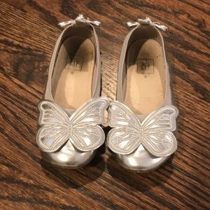 Toddler girl Butterfly shoes